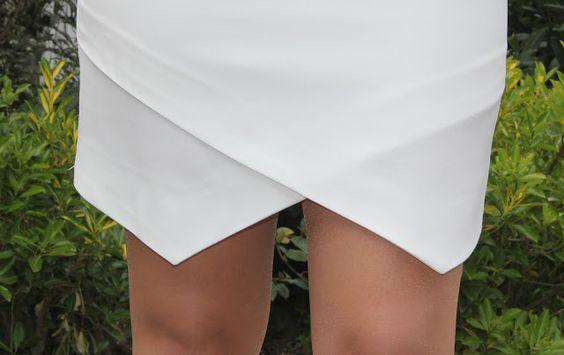 Cómo hacer el bajo dobladillo de la falda