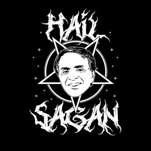 "Carl Sagan /""Hail Sagan/"" Tee"