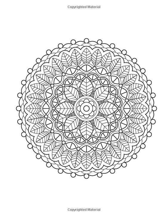Pattern And Design Coloring Book Volume 1 Jenean