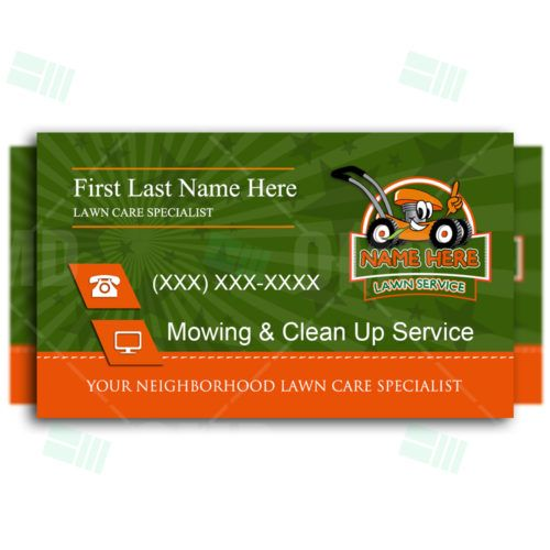 Business Card 1 Free Business Card Templates Lawn Care Business Lawn Care Business Cards