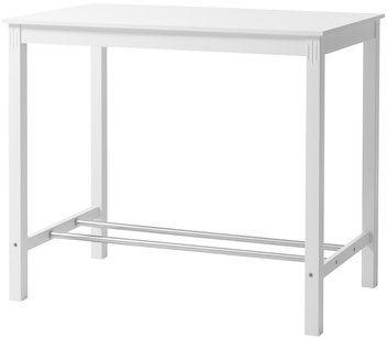 Kök köksö barbord : Barbord AULUM 70x120cm vit | JYSK (950sek) | Köksö | Pinterest