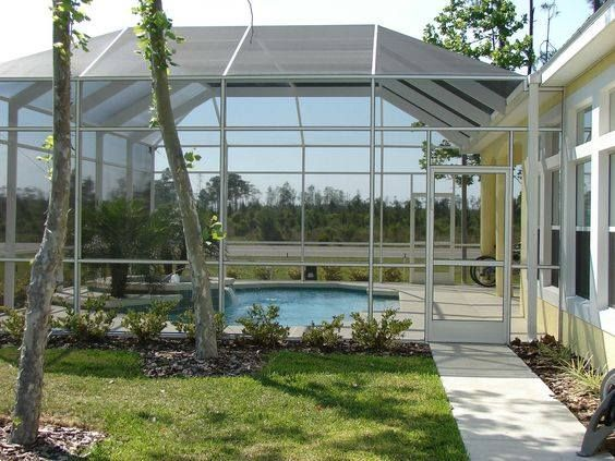We Understand That Weather Makes It Difficult To Have A Pool You Can Be Proud Of But At Fabri Tech We H Winter Garden Pool Screen Enclosure Screen Enclosures