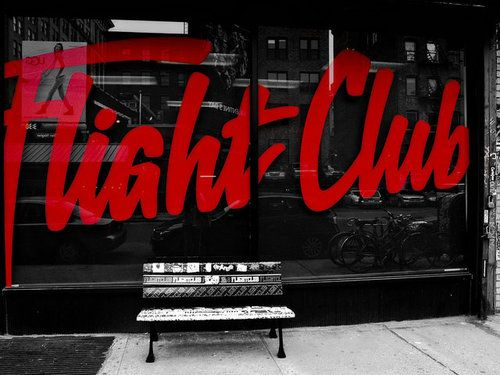 Flight Club #typography