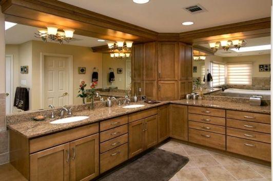 Gorgeous bathroom vanity-Home and Garden design ideas