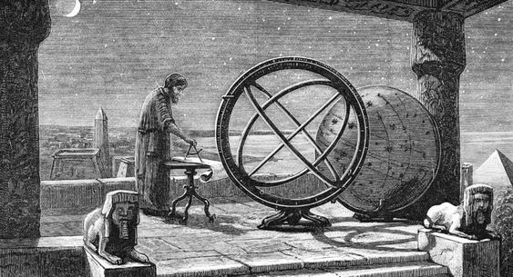 Hipparchus, Ancient Greek Astronomer Art Print Suitable for Framing #ArtPrint