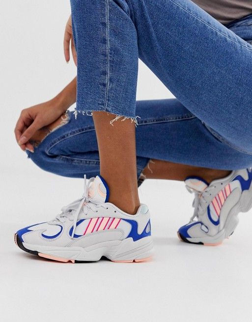 adidas Originals Yung-1 sneakers in