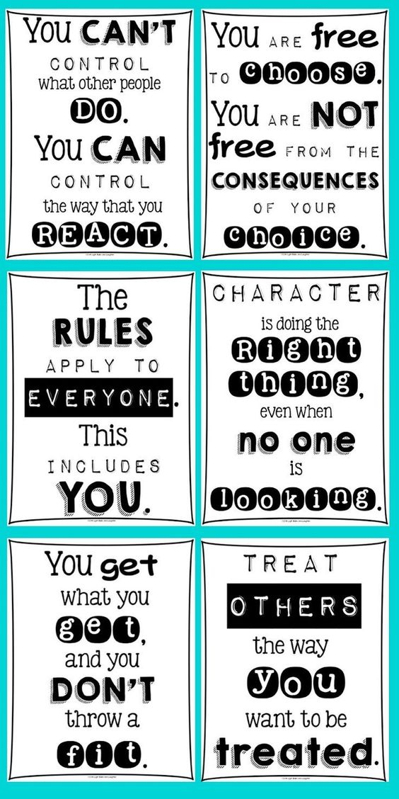 Classroom Posters For Every Teacher