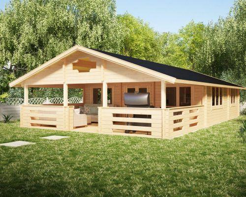 Zwei Schlafzimmer Ferienhaus Holiday F 50m2 7 X 12 M 70mm Ferienhaus Haus Holzhutten
