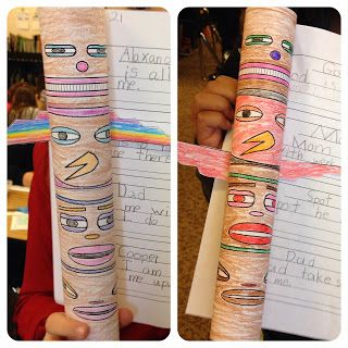 Have your students make these cute totem poles when learning about Native Americans of the Northwest.