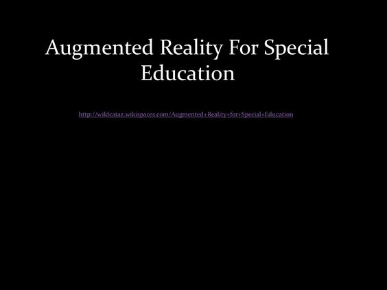 Augmented reality presentation