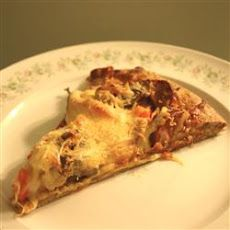 Chicken and Chourico Pizza