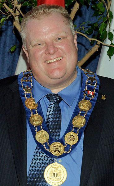 Rob Ford : Toronto Mayor, and Human Train Wreck !!!