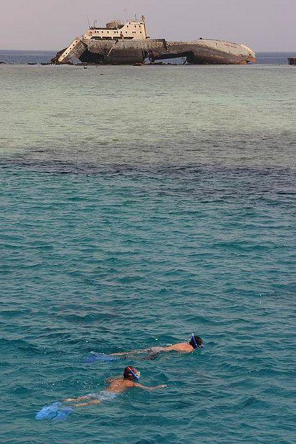Snorkelers, Tiran Island | par Raphael Bick