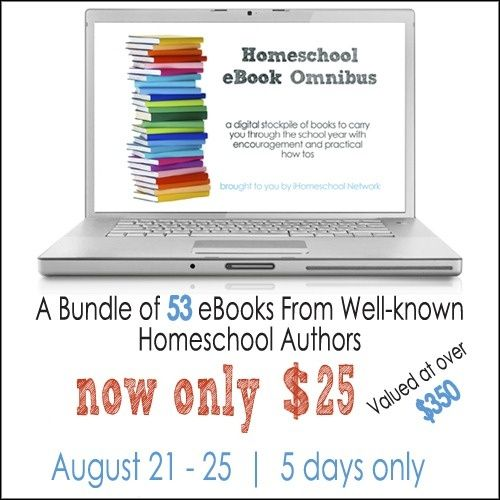 5 days only MEGA SALE! 53 Homeschooling ebooks: lit packs, lapbooks, unit studies, weekly preschool and more ONLY $25!!