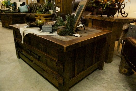 western barn wood houses | Barnwood Furniture « Cedar Creek