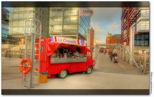 la creperia Citroen HY food truck