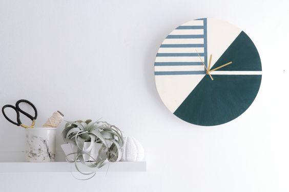 Une horloge graphique à faire soi-même