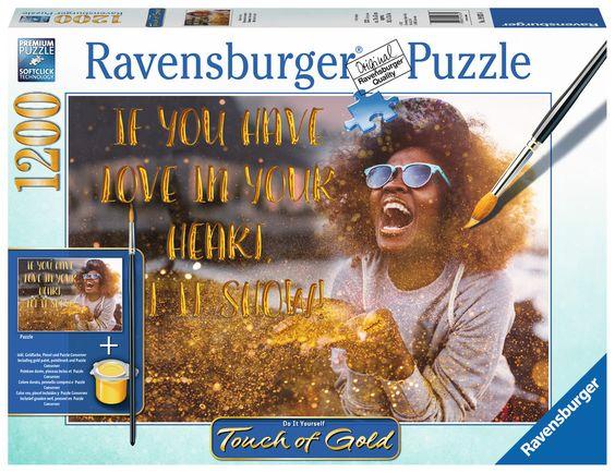 Ravensburger Puzzle - Show me Love - 1200 Teile
