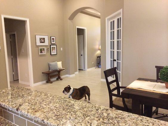 Keuken kleuren, Witte deuren and Huiskamers on Pinterest
