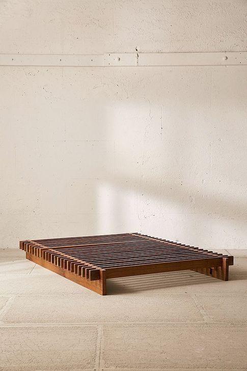 99 Elegant Platform Bed Design Ideas Wood Bed Frame Diy Platform Bed Designs Diy Bed Frame Platform bed with wooden slats