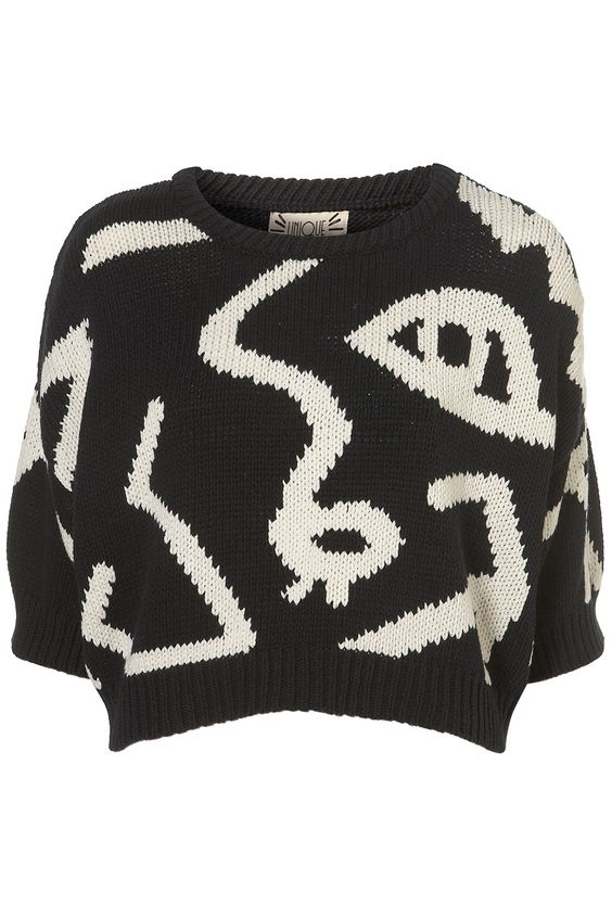 ts unique cropped jumper