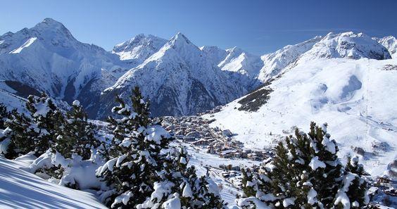 Les Deux Alpes, une station, un glacier #montagne #france