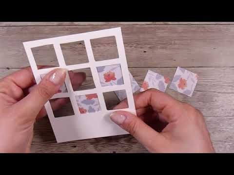 Creating This Card With No Dies Cardmaking Handmade Youtube Cards Handmade Card Craft Card Making Videos