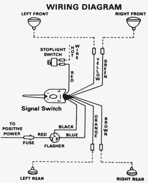 Signal Stat Model 900 Wiring Diagram in 2020 | Diagram, Wire, Turn onsPinterest