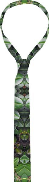 Tie, Rubber Tree Pattern from Print All Over Me