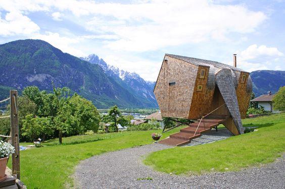 #ferienhaus #ufogel #haus #oesterreich #holzhaus