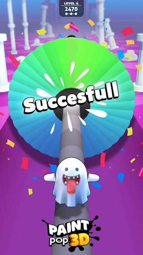 Free And Safe Download Of Paint Pop 3d Apk Only At Apknite Android Apk Free Download Games Tabs Game Pop Hit Games