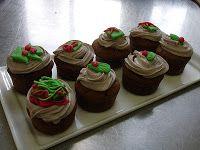Chocoladecupcakes