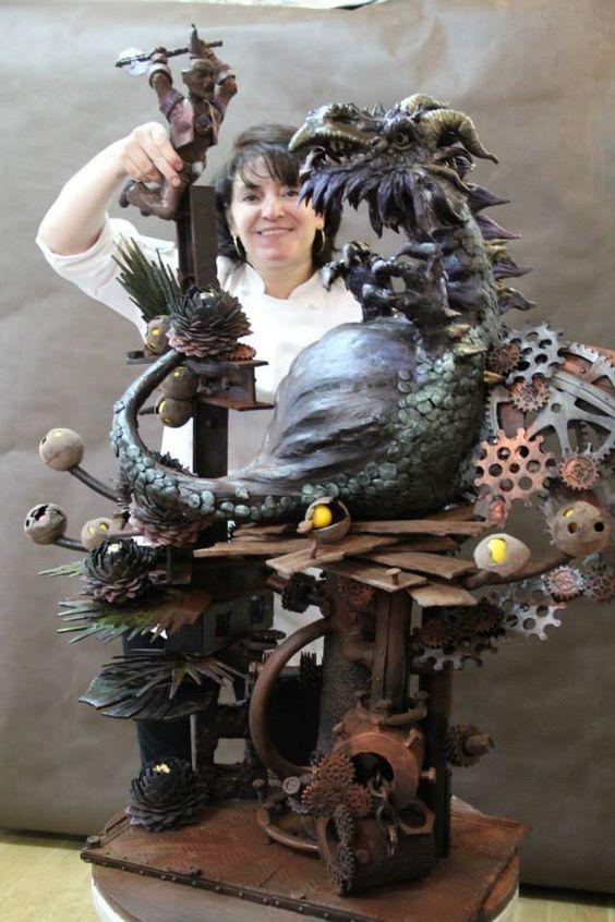 Elena Shramko. Edible Art.