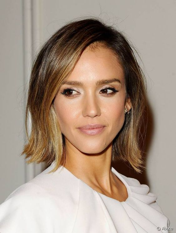 la coloration bronde de jessica alba la coloration bronde la nuance prfre des stars elle bronde pinterest jessica alba and stars - Coloration Bronde