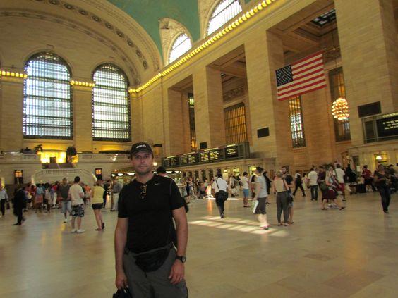 Grand Central Station. Estación de Trenes de New York.