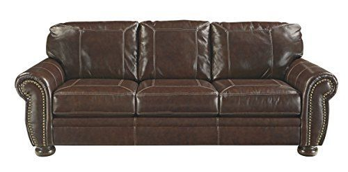 Farmhouse Sofas Farmhouse Couches Farmhouse Goals Faux Leather Sofa Rustic Sofa Ashley Furniture