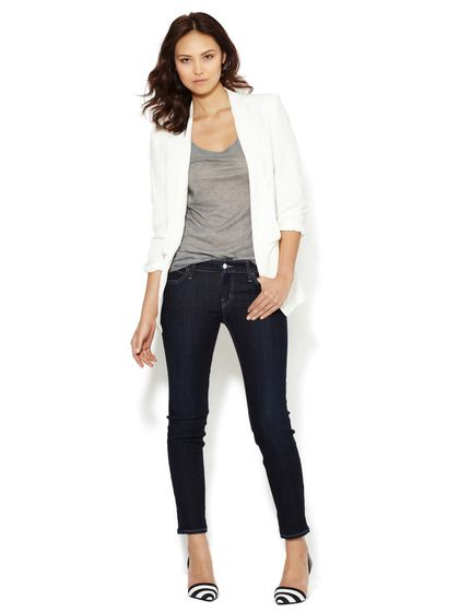 Low-Rise Cigarette Jean by Koral at Gilt:
