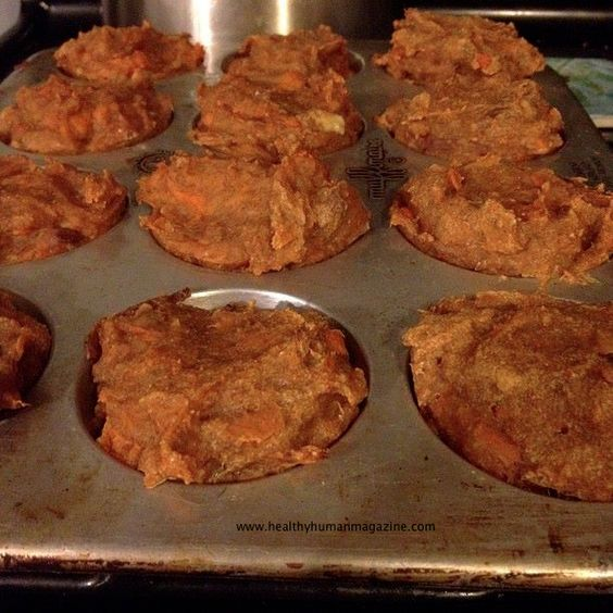 Sweet Potato Spelt Vegan Muffins