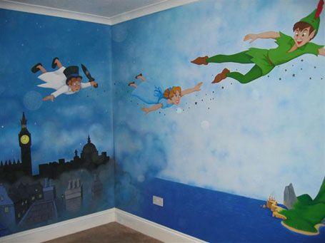 Peter Pan Mural | Magical Murals