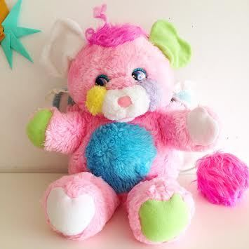 Image of Popples Peluche Vintage Rose Baby Crisby