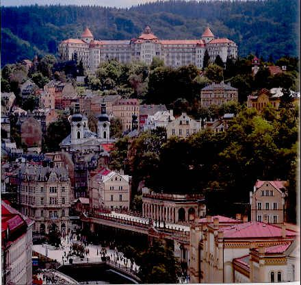 Karlovy vary best spa town in czech republic europe for Best spa in prague