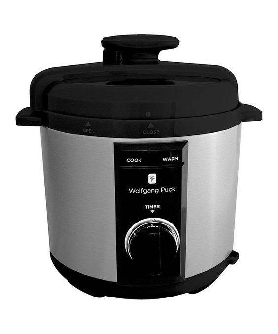 Wolfgang puck black 8 qt rapid pressure cooker black and ps for Wolfgang puck pressure oven