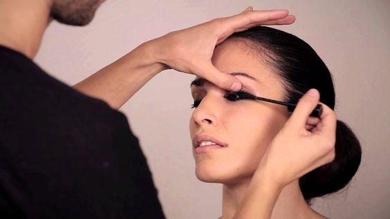 Μακιγιάζ για έντονο βλέμμα απο τον Make-up Artist Konstantino