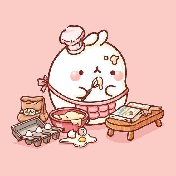 Pin On Cute Chibi anime food wallpaper