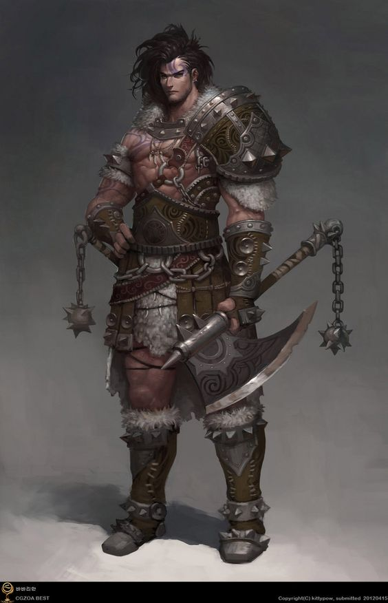 Fantasy warrior men - photo#35