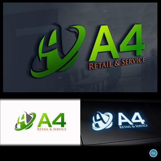 LETTER A LOGO _retail & service
