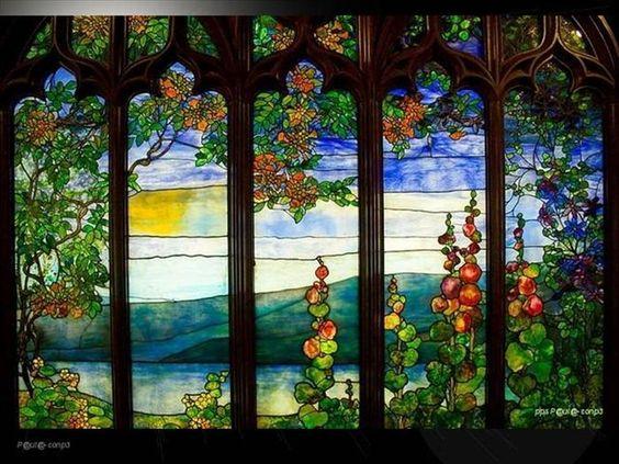 vidro, arte