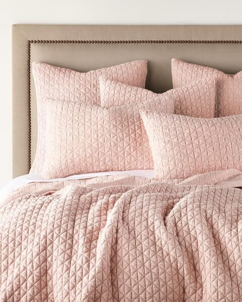 Rowan Crinkle Quilt Collection Solid Quilts Bedding Bed Bath Stein Mart Blush Bedding Bedding Sets Grey Quilt Bedding