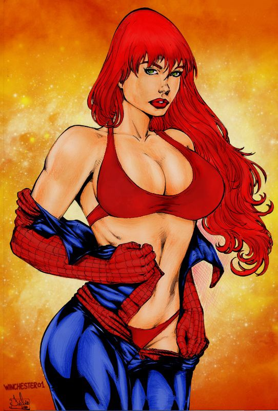 Mary Jane Watson by Fabio by winchester01 on DeviantArt