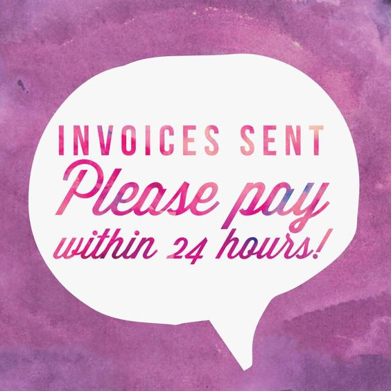 Help clients understand how we do business Great graphic for your - send invoices